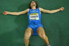 Gianmarco Tamberi at the IAAF World Indoor Championships Portland 2016 (Getty Images)