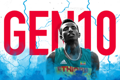 Gen 10: Ethiopian distance runner Selemon Barega (Getty Images)