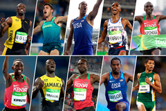 The 2016 World Athlete of the Year men's nominees (Getty Images)