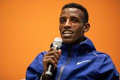 World steeplechase silver medallist Lamecha Girma in Monaco (Philippe Fitte)