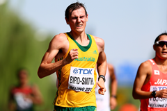 Dane Bird-Smith in the 20km race walk at the IAAF World Championships Beijing 2015 (Getty Images)