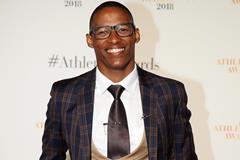 Ruswahl Samaai ahead of the IAAF Athletics Awards (Giancarlo Colombo)