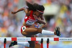 Brianna Rollins 100m hurdles USA ()