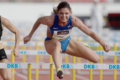 German sprint hurdler Pamela Dutkiewicz (Getty Images)