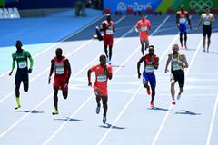 Rio 2016 4x100m heats