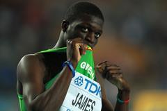 Kirani James 400m Olympic Champion Grenada ()