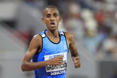 Athlete refugee team member Tachlowini Gabriyesos at the IAAF World Athletics Championships Doha 2019 (Getty Images)
