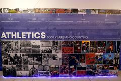 Display panel at IAAF Heritage Exhibition, Ostrava (Getty Images for IAAF)