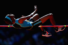 St Lucian high jumper Levern Spencer (Getty Images)