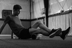 Johnny Gregorek during training (ASICS)