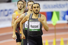 Adam Kszczot, winner of the 800m at the IAAF World Indoor Tour Meeting in Dusseldorf (Gladys Chai von der Laage)