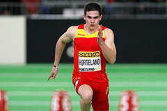 Spanish sprinter Bruno Hortelano (Getty Images)