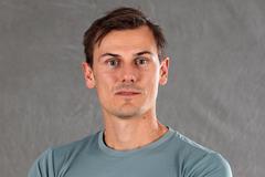 Dane Bird-Smith ahead of the IAAF Athletics Awards in Monaco (Giancarlo Colombo)