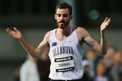 Patrick Tiernan competes at the Zatopek 10k (Getty Images)