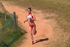Carla Salome Rocha on her way to winning in Albufeira ()