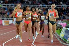 Renelle Lamote wins the 800m at the 2015 IAAF Diamond League in Stockholm (Deca Text&Bild)