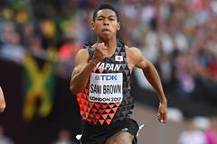 Hakim Sani Brown at the 2017 World Championships (Getty Images)