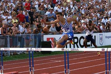 Debrecen 2001 - Amine Alozen (© Allsport)