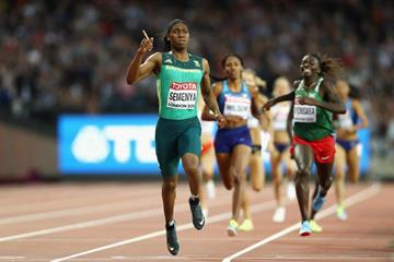 Caster Semenya wins the 800m at the IAAF World Championships London 2017 (Getty Images)