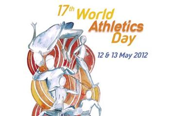 2012 IAAF World Athletics Day poster (Meri Zanolla for the IAAF)