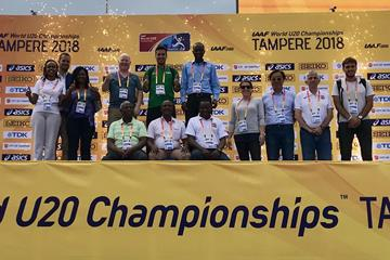 Participants in the IAAF Observers Programme in Tampere, Finland (IAAF)