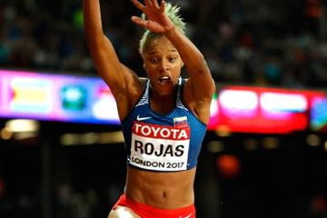 Yulimar Rojas in action at the IAAF World Championships London 2017 (Getty Images)