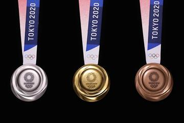 The medals for the Tokyo 2020 Olympic Games (Tokyo 2020 LOC)