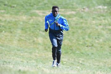 Athlete Refugee team member Jamal Abdelmaji Eisa Mohammed in Aarhus (Jiro Mochizuki)