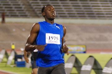 Usain Bolt opens 2010 with 45.86 victory in Kingston (Anthony Foster)