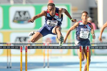 South African 400m hurdler Sokwakhana Zazini (Roger Sedres)