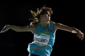 Alexandra Emilianov at the IAAF World Youth Championships Cali 2015 (Getty Images)