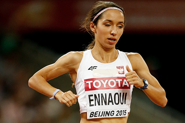 Sofia Ennaoui in the 1500m at the IAAF World Championships Beijing 2015 (Getty Images)