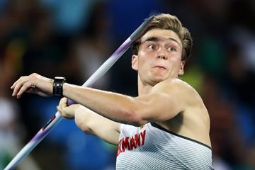 Thomas Rohler in the javelin at the Rio 2016 Olympic Games (Getty Images)