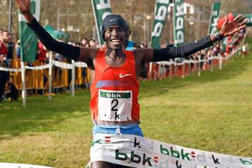 Cyprian Kotut wins in Amorebieta (Unai Sasuátegui)