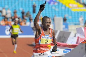 2:07:32 victory for Sammy Korir in Seoul (AFP)