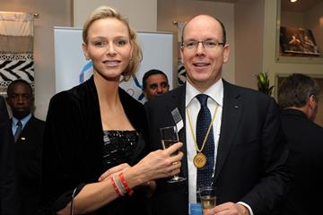 HSH Prince Albert II of Monaco with Princess Charlene (Getty Images)