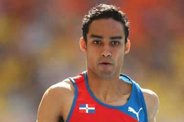 Luguelin Santos at the 2013 IAAF World Championships (Getty Images)