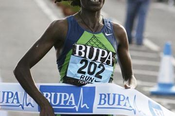 Berhane Adere finally triumphant at Great North Run (Getty Images)