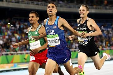 Matthew Centrowitz wins the 1500m at the Rio 2016 Olympic Games (Getty Images)