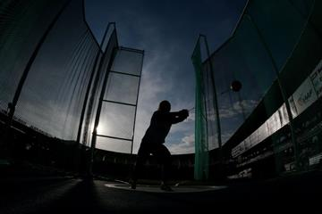 A hammer thrower at the IAAF World Youth Championships, Cali, 2015 (Getty Images)
