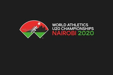World Athletics U20 Championships Nairobi 2020 logo ()