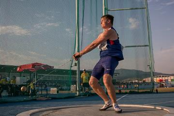 Britain's Jake Norris in the hammer (Getty Images)