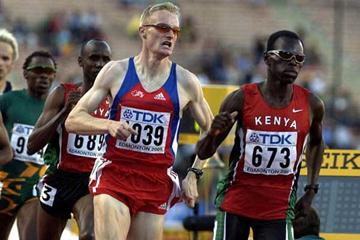2001 World 800m Final - Wilfred Bungei heads Andre Bucher (Getty Images)