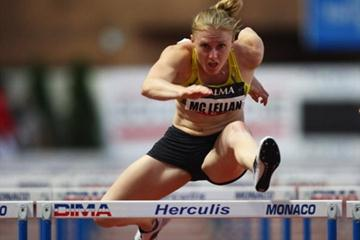 Sally McLellan flies to Area record in Monaco (Getty Images)