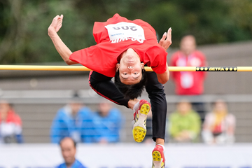 China's Chen Long in the high jump at the Asian Youth Championships (Organisers)
