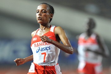 Bahraini distance runner Shitaye Eshete (Getty Images)