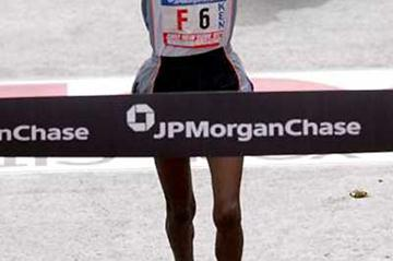 Chepchumba wins the New York Marathon (Getty Images)