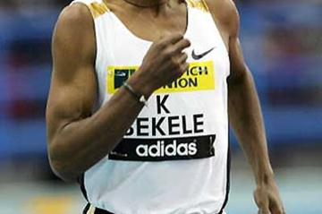Kenenisa Bekele falls short of Gebrselassie's World 2 Mile best (Getty Images)