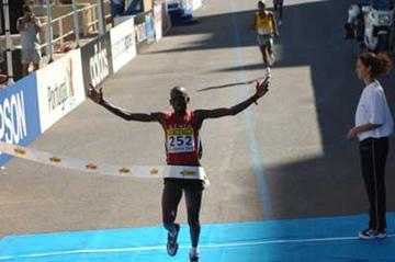 Martin Lel wins (IAAF)