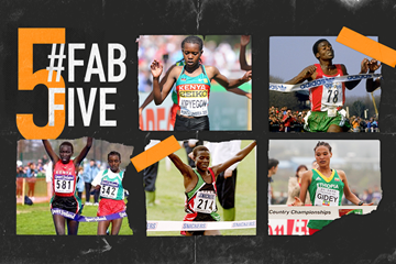 Fab five: World Cross U20 stars (Getty Images)